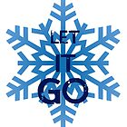 "Frozen- ""Let it Go"" Snowflake by llllllll8"