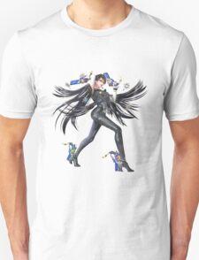 Smash 4 Bayonetta Character Artwork T-Shirt