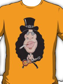 Classic Rock 80's 90's Funny Caricature T-Shirt