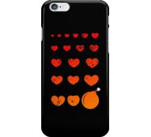 silent love blast iPhone Case/Skin