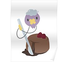 Chocolate souffle Poster