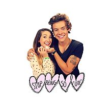 Zoella & Harry Styles  by alisandra94