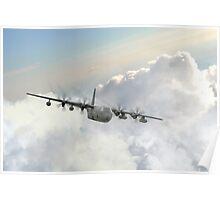 USAF C130 Poster