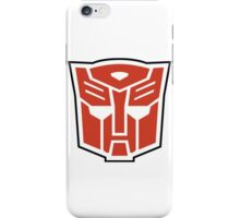 autobot - red iPhone Case/Skin