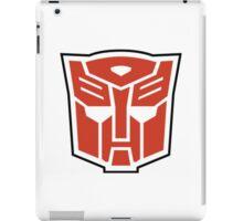 autobot - red iPad Case/Skin