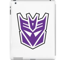 decepticon - purple iPad Case/Skin