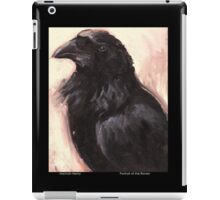 Portrait of a Raven iPad Case/Skin