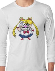 Wario Moon Long Sleeve T-Shirt