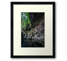Xcaret Park - Mexico Framed Print