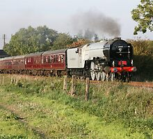 tornado steam train by markspics