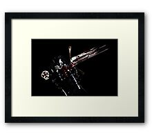 Barbarism of the Crusaders Framed Print