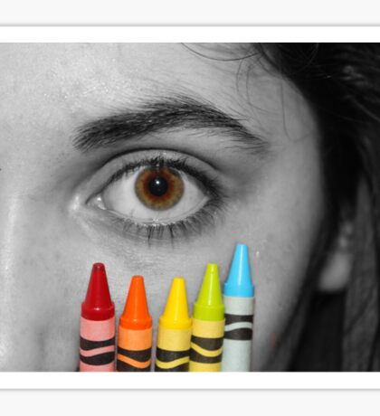 Coloring Vision Sticker