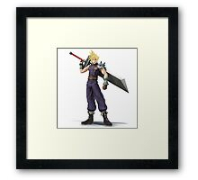 Smash 4 Cloud Artwork Framed Print
