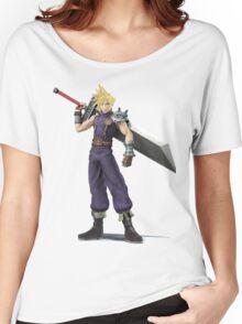 Smash 4 Cloud Artwork Women's Relaxed Fit T-Shirt