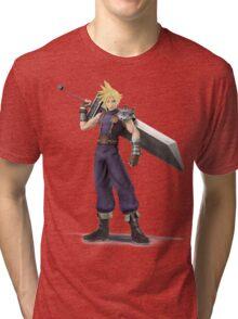 Smash 4 Cloud Artwork Tri-blend T-Shirt