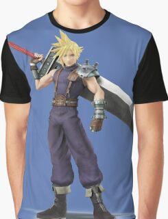 Smash 4 Cloud Artwork Graphic T-Shirt