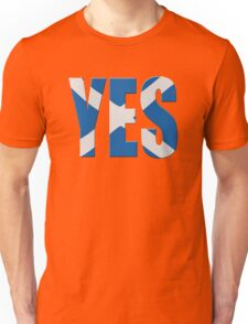 Scottish flag  yes  Unisex T-Shirt