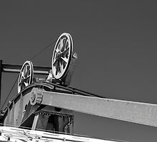 Cable Car Pulleys by Alex Wagner