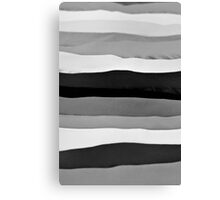 Abstract Shaded Layers Canvas Print