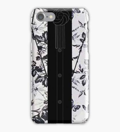 Harry Styles B/W Flowers iPhone Case/Skin