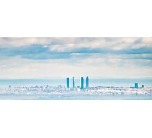 Madrid Skyline Photographic Print