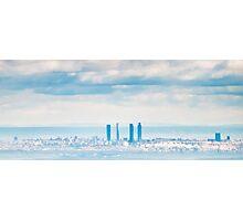 Madrid Skyline Photographic Print