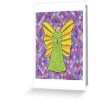 Military Angel Greeting Card