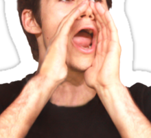 Dylan O'Brien OUR KING Sticker