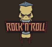 Rock 'n' Roll Skull by MrFaulbaum