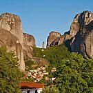 Kastraki village, Meteora by Konstantinos Arvanitopoulos