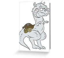 STARWARS-TAUNTAUN Greeting Card
