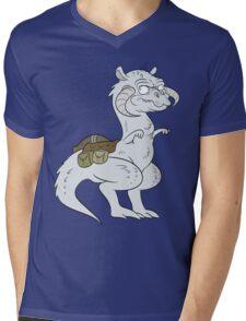 STARWARS-TAUNTAUN Mens V-Neck T-Shirt