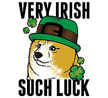 Doge St. Pattys Day Photographic Print