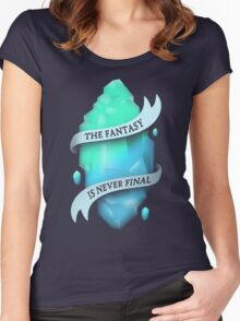 FANTASY CRYSTAL Women's Fitted Scoop T-Shirt