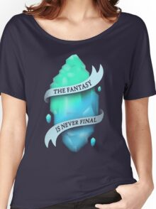 FANTASY CRYSTAL Women's Relaxed Fit T-Shirt