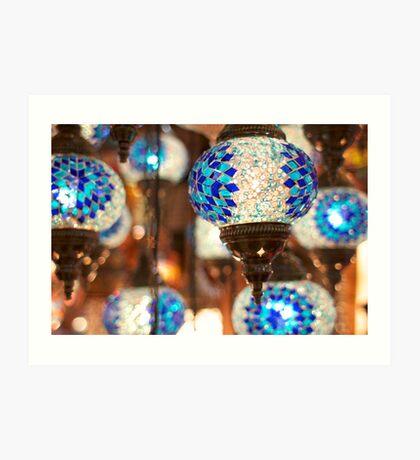 Arabic Lanterns in Istanbul Art Print