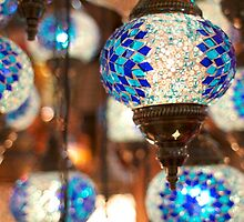 Arabic Lanterns in Istanbul by Carrie Brummer