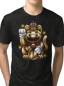 LUCKY PLUMBER Tri-blend T-Shirt