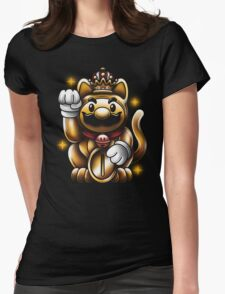 LUCKY PLUMBER Womens Fitted T-Shirt