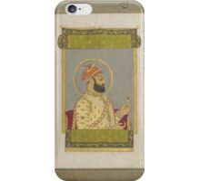 Asian Miniatures - portrait - jewel King picture  iPhone Case/Skin