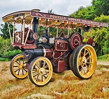 Aveling and Porter showmans tractor by ipgphotography
