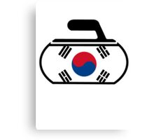 South Korea Curling Canvas Print