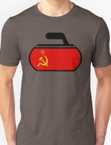 USSR Curling Unisex T-Shirt