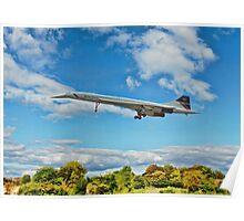 British Airways Concorde Poster