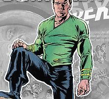 Star Trek - Comic Book Kirk by nelder55