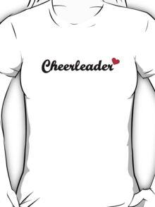 Cheerleader heart T-Shirt