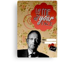 Magnussen Valentine's Day Card Canvas Print