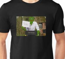 Harrison 'Pepe' Ford the Smug Frog - Hello 4chan Unisex T-Shirt