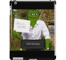Harrison 'Pepe' Ford the Smug Frog - Hello 4chan iPad Case/Skin