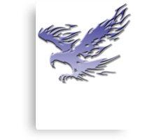 Tribal Eagle blue version Canvas Print